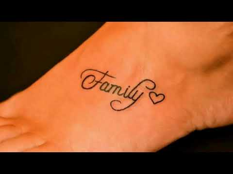 Family Tattoo Designs for Remembering