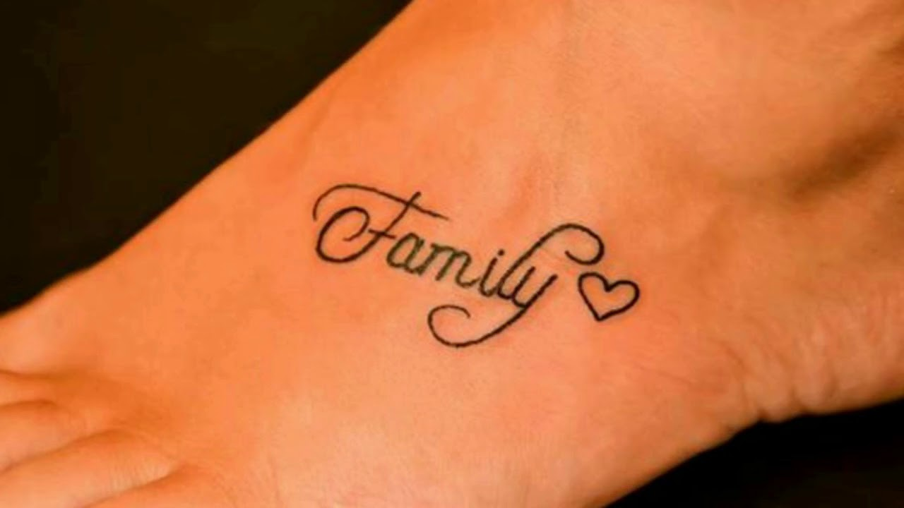 family tattoo designs for remembering the best family youtube. Black Bedroom Furniture Sets. Home Design Ideas