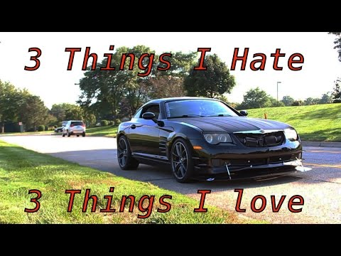 Chrysler Crossfire Track Build   3 Things I Love & 3 Things I Hate