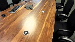 Solid Walnut Large Conference Tables
