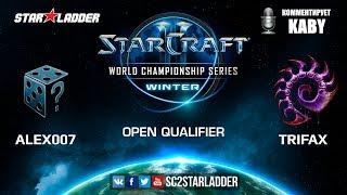 2019 WCS Winter Open Qualifier 2 Match 3: Alex007 (R) vs Trifax (Z)