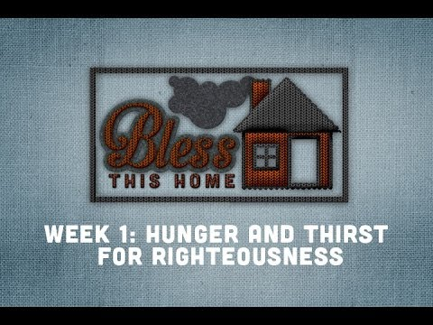 Bless This Home - Week 1 ::: 1-19-13
