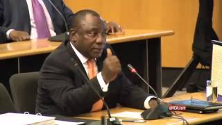 Ramaphosa gets Mpofu hot under the collar over 'conflict of interests'