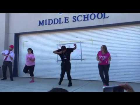 Chalone Peaks Middle School flash mob