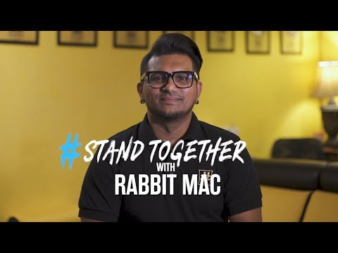Rabbit Mac supports #StandTogether