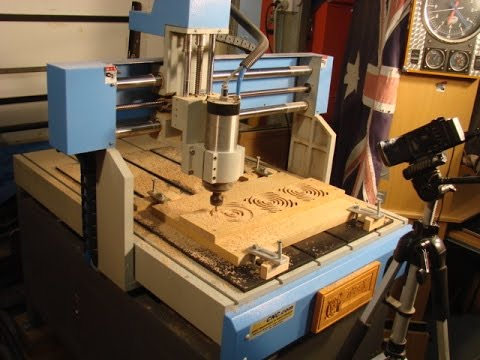 105 Cnc Router Small Production Run Trivet Youtube