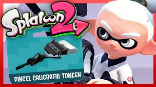 ¡PINCEL CALIGRAFIA TONKEN! - Splatoon 2 Online (Nintendo Switch)