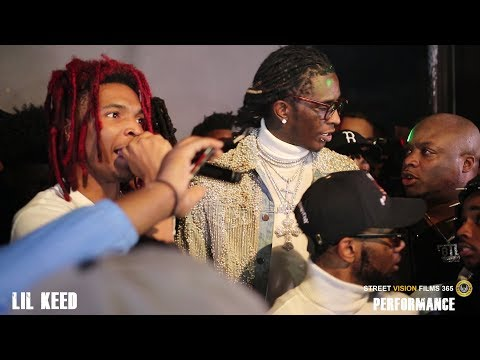 Lil Keed Performance,Young Thug Shows Up To Support His Newest Ysl Member Mp3