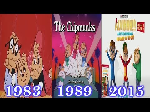 ✧*:.•♡Alvin and the Chipmunks Theme (Animation Changes) ♡•.:*✧