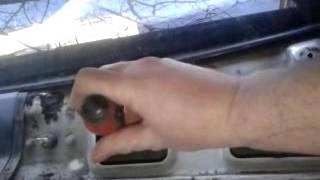 видео Трапеция стеклоочистителя