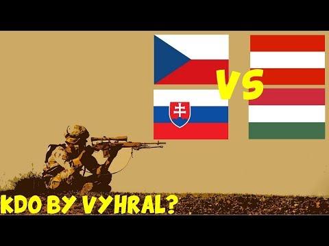 Česko,Slovensko VS Rakousko,Maďarsko - Kdo by vyhrál: DUEL ? #1