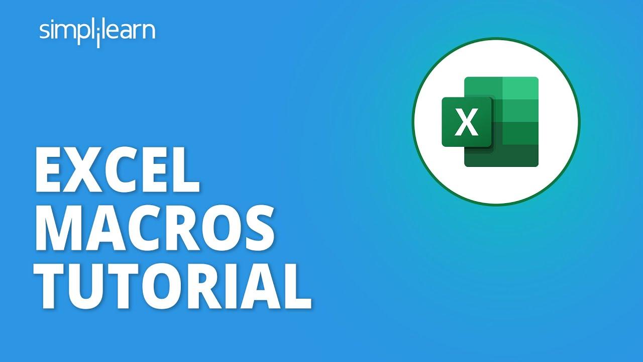 Macros In Excel | How To Use Macros In Microsoft Excel | Excel Macros Tutorial