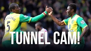 TUNNEL CAM: Norwich City 2-0 Sunderland