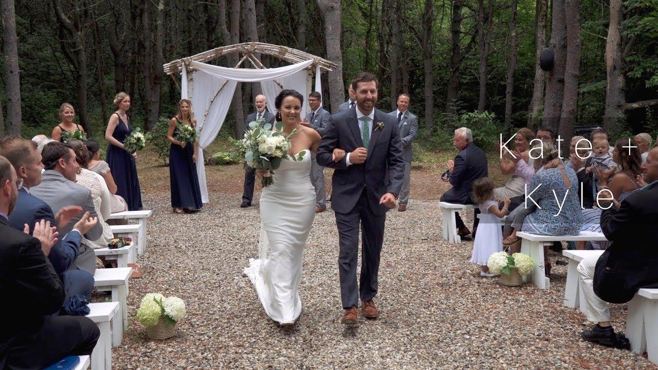 Barn At Flanagan Farm Wedding // Outdoor Wedding In The Woods // Maine  Wedding Film