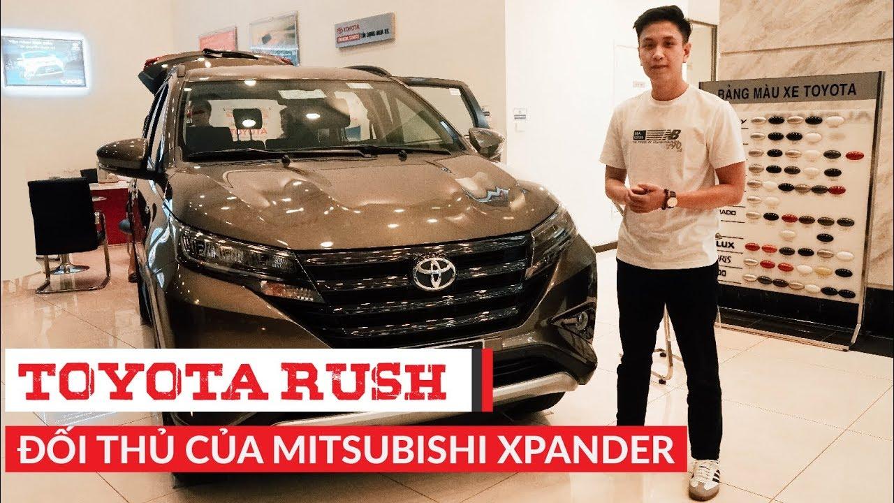 [Chi Tiết] TOYOTA RUSH – Đối thủ của Mitsubishi Xpander | Whatcar.vn