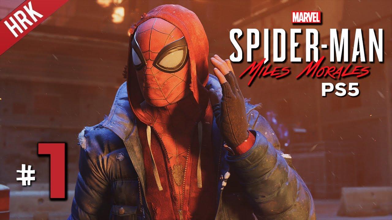 สองพี่น้องไอ้แมงมุม - MARVEL'S SPIDER-MAN: Miles Morales PS5 #1