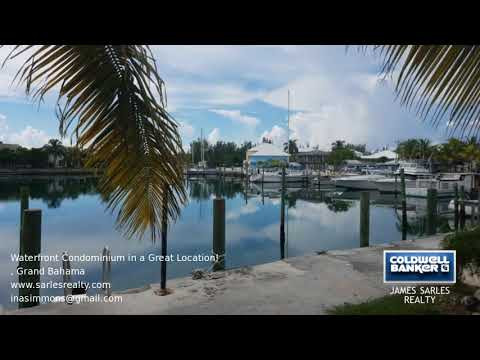 Bahamas Property - Waterfront Condominium in a Great Location!