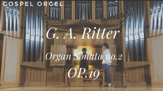 A  G  Ritter Organ Sonata no 2 OP.19