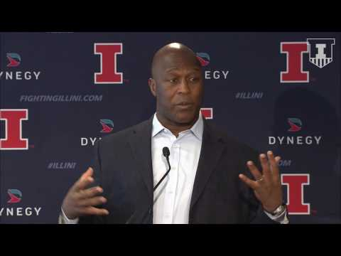 Lovie Smith Signing Day Press Conference | Illinois Signing Day 2017