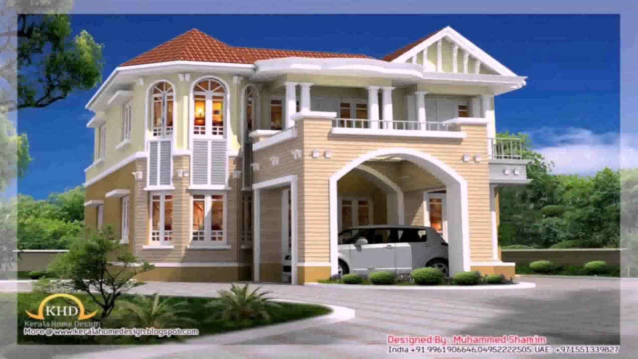 Beautiful house plans in nigeria youtube for Beautiful home blueprints