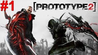 Prototype 2 PS3 Gameplay #1 [Crazy Ass Game!]