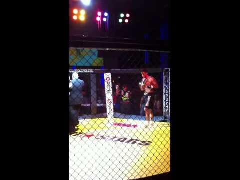 Adam khan mma knock out