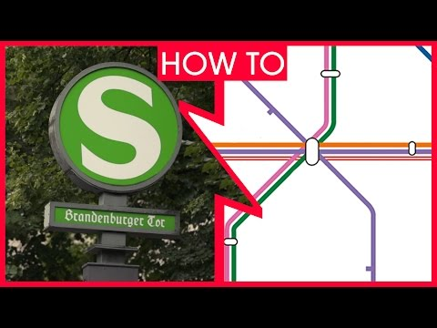 Berlin: How to use the Public Transport Network - How to get