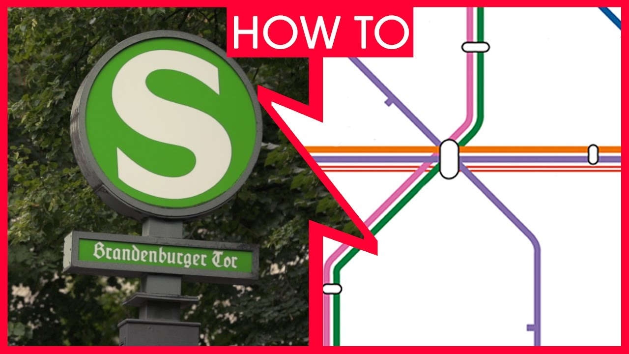 Karta Berlin Bvg.Berlin How To Use The Public Transport Network How To Get Around