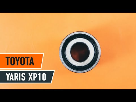 How to replace front wheel bearing TOYOTA YARIS XP10 TUTORIAL | AUTODOC