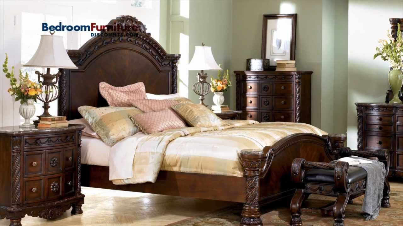 Ashley North Shore Panel Bed Bedroom Set SALE YouTube