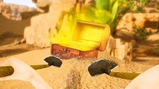 НАШЕЛ ТАЙНЫЕ СОКРОВИЩА С ОГРОМНЫМ КУШЕМ ВНУТРИ! (Treasure Simulator)