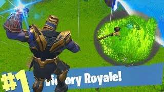 FLYING BRUSHMAN TEGEN THANOS IN NIEUWE GAMEMODE?! - Fortnite Battle Royale