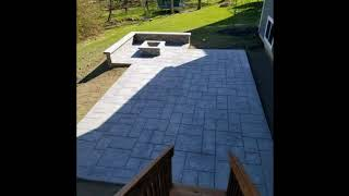 Unique Stamped Concrete Patio Ideas, Outdoor Space Designs, The Concrete Network Ideas #4
