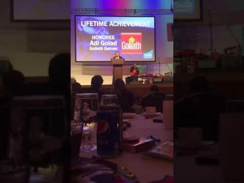 Adi Golad's Lifetime Achievement Speech