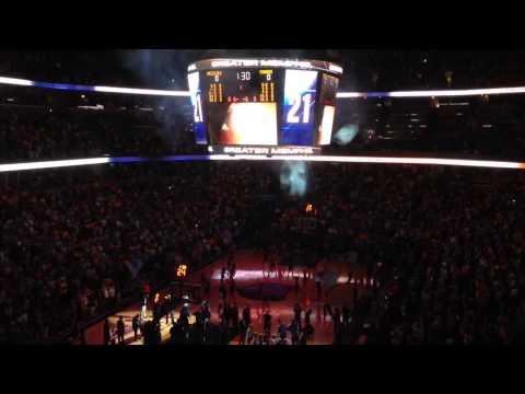 Memphis Grizzlies 2014 Playoffs Intro Video & Intros