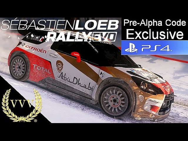 Sébastien Loeb Rally Evo - Exclusive PS4 Pre Alpha Gameplay