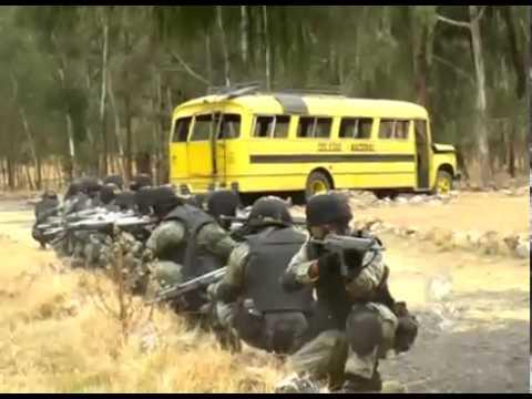 entrenamiento de soldados