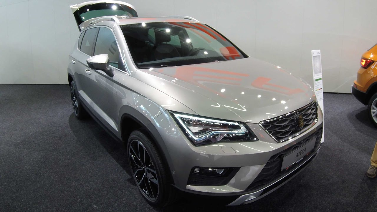 seat ateca xcellence cappuccino beige walkaround. Black Bedroom Furniture Sets. Home Design Ideas