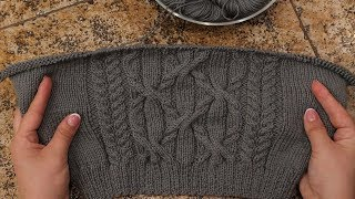 Узор для жилета спицами | Knitting pattern for vest