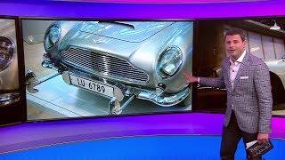 سيارة جيمس بوند المسلحة بيعت في المزاد العلني ..  قصة استون مارتن DB5