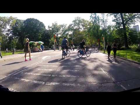 Riding GT Grade FB Elite in Central Park New York City