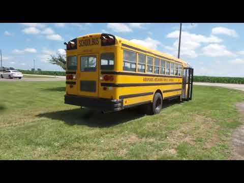 2003 International CE school bus for sale at auction | bidding closes  August 7, 2019