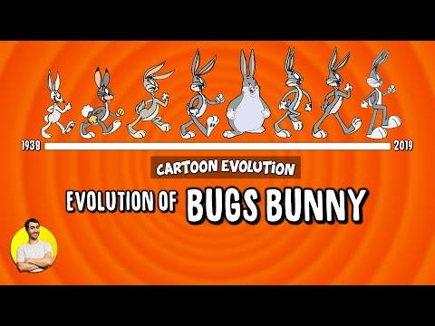 Evolution of BUGS BUNNY - 80 Years Explained   CARTOON EVOLUTION