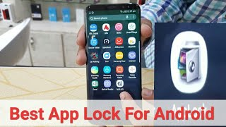 Most probably The best app lock 2018 in play store for mobile security/ best app lock