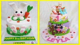 🔵 Uşaqlar üçün tortlar | ad günü tortları | tortların bəzədilməsi |