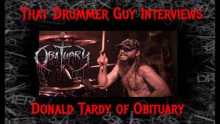 That Drummer Guy Interviews Donald Tardy Of Obituary