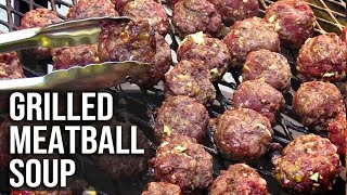 Meatball Soup by the BBQ Pit Boys