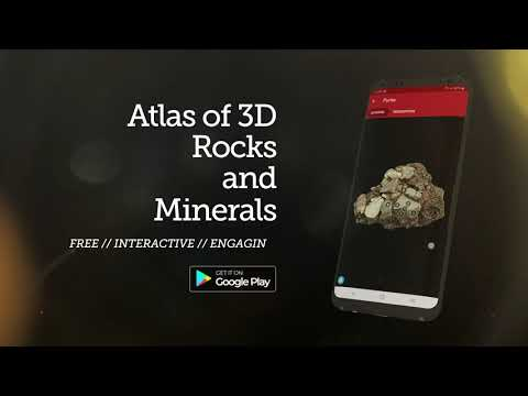 Altas of 3D Rocks and Minerals (android app)