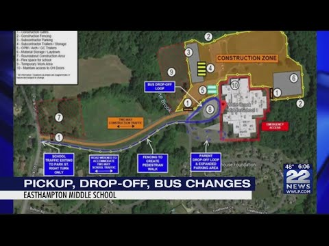 White Brook Middle School construction to begin Monday