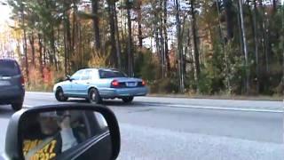 Car Fire Aftermath on Maine Turnpike